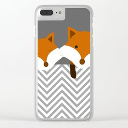 Be curious Clear iPhone Case