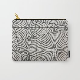 Line Circles Carry-All Pouch