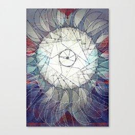 hang on to your vertigo Canvas Print