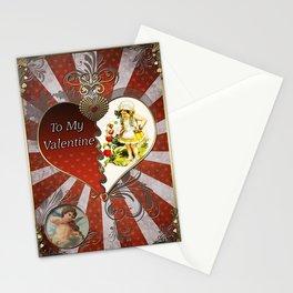 Valentine's Day Vintage Card 100 Stationery Cards