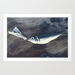 At the Bottom of the Sea Art Print