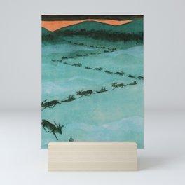 Magic Lapland By Rudolf Koivu Mini Art Print