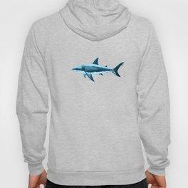Pattern: Great White Shark  ~ Light Blue ~ (Copyright 2015) Hoody