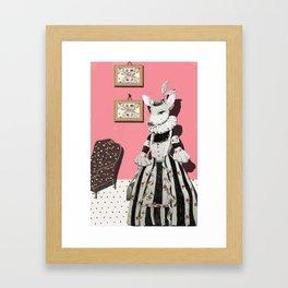 Deer Lady  Framed Art Print