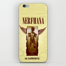 Nerfhana  In Carbonite iPhone Skin