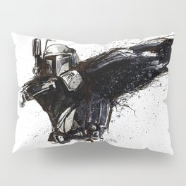 BOBA FETT INKS Pillow Sham