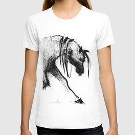 Horse (Portrait of a lady) T-shirt