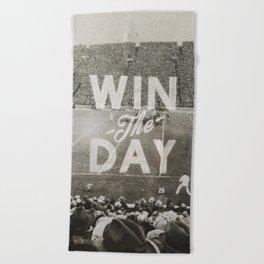 Win the Day Beach Towel