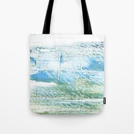 Mint cream abstract watercolor Tote Bag
