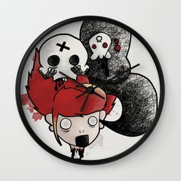 Nightmares and Progress - Lobotomy Wall Clock