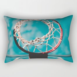 basketball hoop 6 Rectangular Pillow