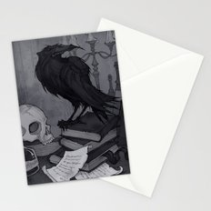 Once upon a Midnight Dreary Stationery Cards
