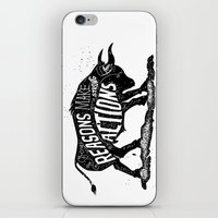 lettering iPhone & iPod Skins featuring Lettering by Iriskana