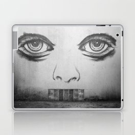 If this wall could talk Laptop & iPad Skin