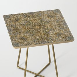 LAYERS OF TIME IN ANCIENT SANDSTONE Side Table