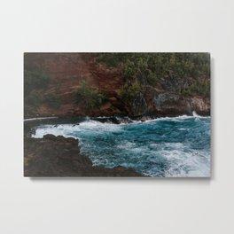On the Beaches of Maui Metal Print