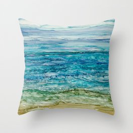Ocean View Throw Pillow
