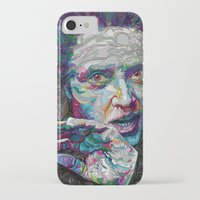 christopher walken iPhone & iPod Cases featuring christopher walken portrait  by Godhead