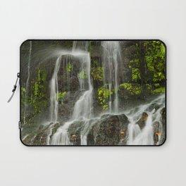 Ho Opi'i Waterfall  Laptop Sleeve