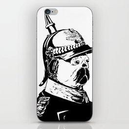 The Emperor Pug iPhone Skin
