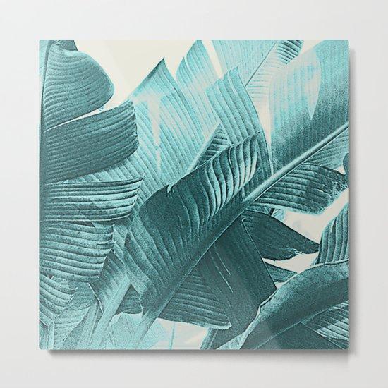 Banana Palm Metal Print