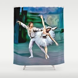 A Perfect Partnership Shower Curtain