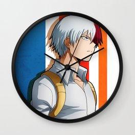 Todoroki Artwork Wall Clock
