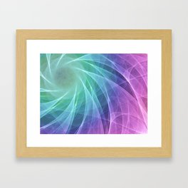 Whirlpool Diamond Computer Art Framed Art Print