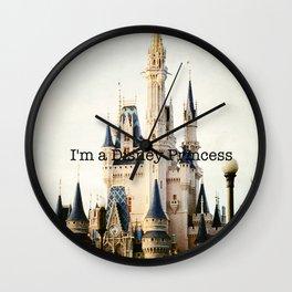 IM A DISNEY PRINCESS Wall Clock