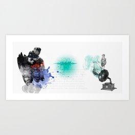 Alfa Art Print