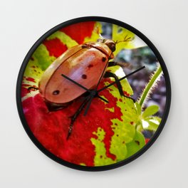 Little Visitor Wall Clock