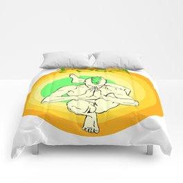 Yoga: asana Comforters