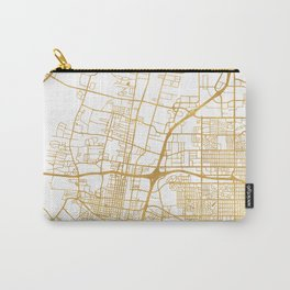 ALBUQUERQUE NEW MEXICO CITY STREET MAP ART Carry-All Pouch