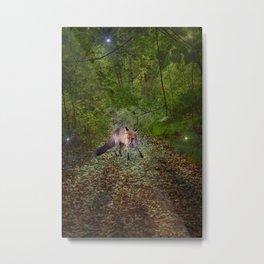 The Watcher in the Woods. Metal Print