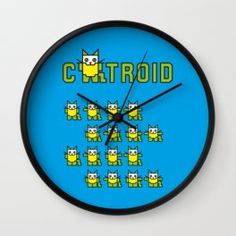 Catroid Wall Clock