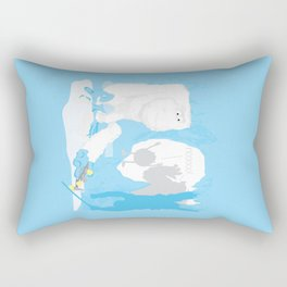 Snow cone anyone? Rectangular Pillow