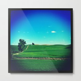 The Palouse Obscura Collection Metal Print