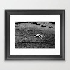 Lose Change  Framed Art Print