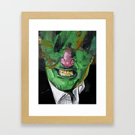 Pity party. Framed Art Print