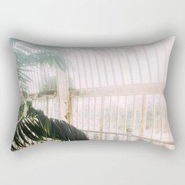 Palm Tree Humid Palm House Rectangular Pillow