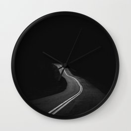The Lost Highway Wall Clock
