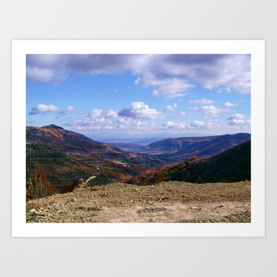 FRENCH MOUNTAIN Art Print