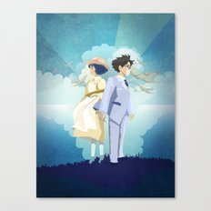 The Wind Rises  Canvas Print