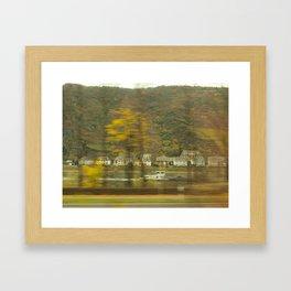 Rhein River Framed Art Print