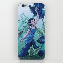 Blending In: a spring fairy iPhone Skin