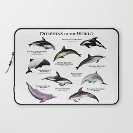 Dolphins of the World Laptop Sleeve