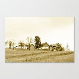 Austrian Farm Canvas Print