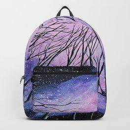 Galaxy, watercolor Backpack