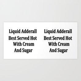 Coffee Mug 11oz - Liquid Adderall Art Print