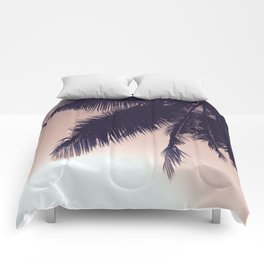 Palm Sunrise Comforters
